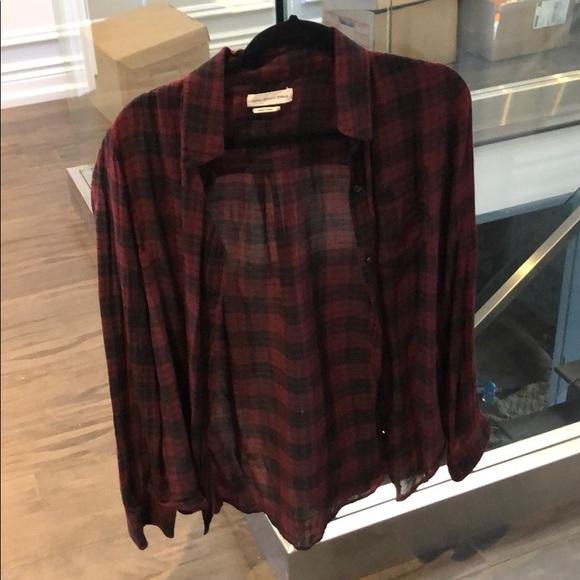 Isabelle Marant Plaid shirt